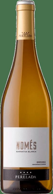 8,95 € | White wine Perelada Només Garnatxa Blanca D.O. Empordà Catalonia Spain Grenache White Bottle 75 cl