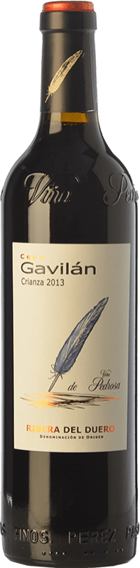 11,95 € 免费送货 | 红酒 Pérez Pascuas Cepa Gavilán Crianza D.O. Ribera del Duero 卡斯蒂利亚莱昂 西班牙 Tempranillo 瓶子 75 cl