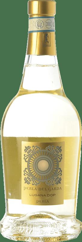15,95 € Free Shipping | White wine Perla del Garda D.O.C. Lugana Lombardia Italy Trebbiano di Lugana Bottle 75 cl