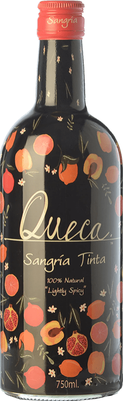 7,95 € Envío gratis | Sangría Pernod Ricard Queca Tinta España Botella 75 cl