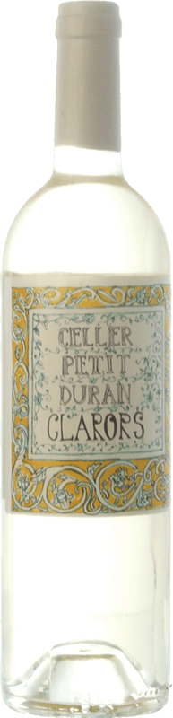 9,95 € Free Shipping | White wine Petit Duran Clarors D.O. Costers del Segre Catalonia Spain Macabeo Bottle 75 cl