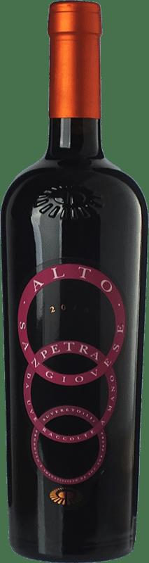 19,95 € Free Shipping | Red wine Petra Alto I.G.T. Toscana Tuscany Italy Sangiovese Bottle 75 cl