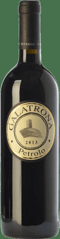 139,95 € Free Shipping | Red wine Petrolo Galatrona I.G.T. Val d'Arno di Sopra Tuscany Italy Merlot Bottle 75 cl