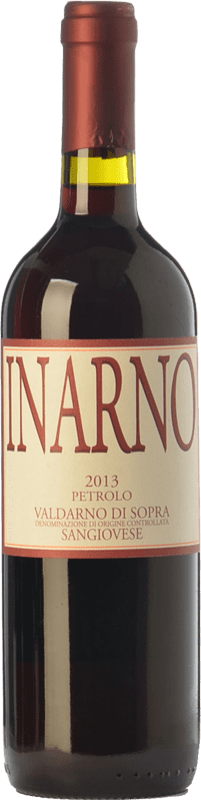 19,95 € Free Shipping | Red wine Petrolo Inarno I.G.T. Toscana Tuscany Italy Sangiovese Bottle 75 cl