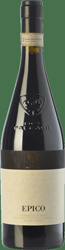 43,95 € Free Shipping | Red wine Pico Maccario Superiore Epico D.O.C. Barbera d'Asti Piemonte Italy Barbera Bottle 75 cl