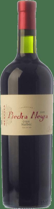 39,95 € Envío gratis | Vino tinto Piedra Negra Lurton Gran Crianza I.G. Mendoza Mendoza Argentina Malbec Botella 75 cl