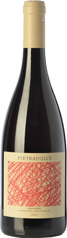19,95 € Free Shipping | Red wine Pietradolce Rosso D.O.C. Etna Sicily Italy Nerello Mascalese Bottle 75 cl