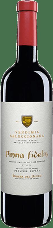 31,95 € Envío gratis | Vino tinto Pinna Fidelis Vendimia Seleccionada Crianza D.O. Ribera del Duero Castilla y León España Tempranillo Botella 75 cl
