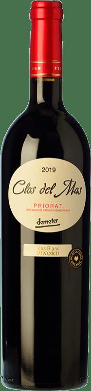 18,95 € Free Shipping | Red wine Pinord Clos del Mas Joven D.O.Ca. Priorat Catalonia Spain Grenache, Cabernet Sauvignon, Carignan Bottle 75 cl