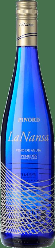6,95 € Free Shipping | White wine Pinord La Nansa Blanc D.O. Penedès Catalonia Spain Macabeo, Chardonnay Bottle 75 cl