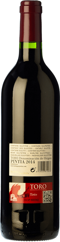 106,95 € Free Shipping | Red wine Pintia Crianza D.O. Toro Castilla y León Spain Tinta de Toro Magnum Bottle 1,5 L
