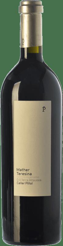 27,95 € Envío gratis | Vino tinto Piñol Mather Teresina Selecció Barriques Crianza D.O. Terra Alta Cataluña España Garnacha, Cariñena, Morenillo Botella 75 cl
