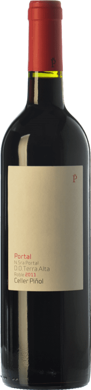 14,95 € Envoi gratuit | Vin rouge Piñol Nuestra Señora del Portal Joven D.O. Terra Alta Catalogne Espagne Merlot, Syrah, Grenache, Carignan Bouteille 75 cl