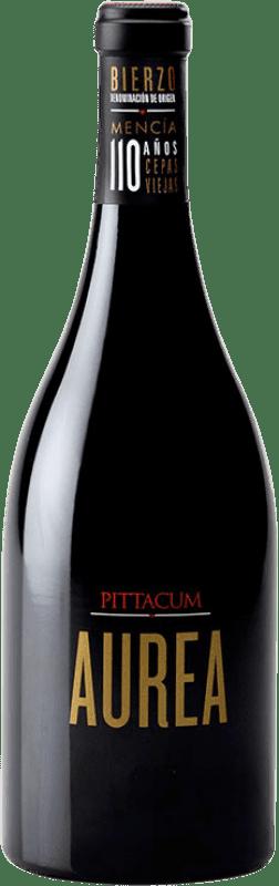 35,95 € Envío gratis | Vino tinto Pittacum Aurea Crianza D.O. Bierzo Castilla y León España Mencía Botella 75 cl
