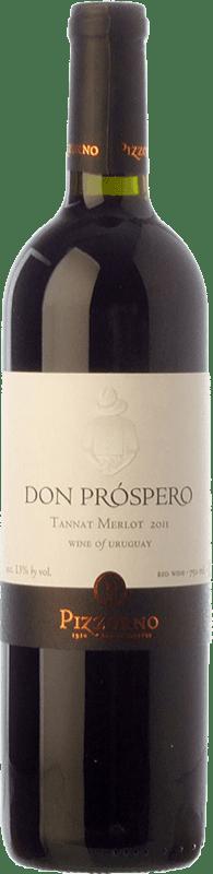 14,95 € | Red wine Pizzorno Don Próspero Joven Uruguay Merlot, Tannat Bottle 75 cl