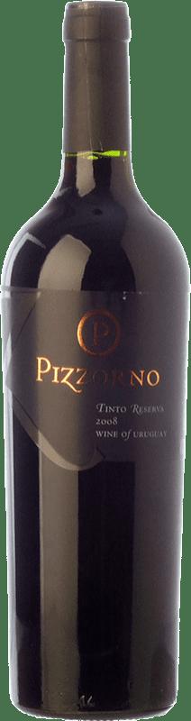 54,95 € | Red wine Pizzorno Reserva 2008 Uruguay Merlot, Tannat Bottle 75 cl