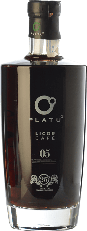 17,95 € Free Shipping | Herbal liqueur Platu Licor de Café Galicia Spain Bottle 70 cl