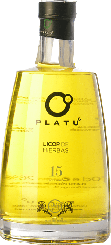 18,95 € Free Shipping | Herbal liqueur Platu Galicia Spain Bottle 70 cl