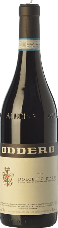 14,95 € Free Shipping | Red wine Oddero D.O.C.G. Dolcetto d'Alba Piemonte Italy Dolcetto Bottle 75 cl