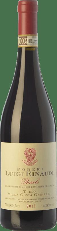 59,95 € | Red wine Einaudi Terlo Vigna Costa Grimaldi D.O.C.G. Barolo Piemonte Italy Nebbiolo Bottle 75 cl
