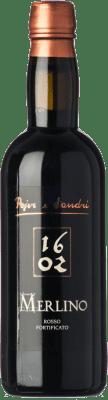 26,95 € Free Shipping | Sweet wine Pojer e Sandri Merlino I.G.T. Vigneti delle Dolomiti Trentino Italy Lagrein Half Bottle 50 cl