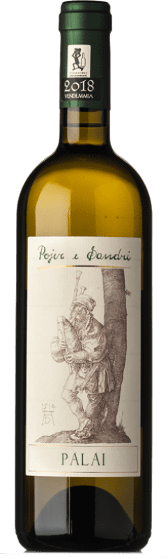 12,95 € Free Shipping | White wine Pojer e Sandri Palai I.G.T. Vigneti delle Dolomiti Trentino Italy Müller-Thurgau Bottle 75 cl
