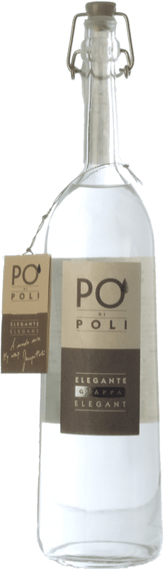 42,95 € Envío gratis | Grappa Poli Pinot Veneto Italia Botella 70 cl