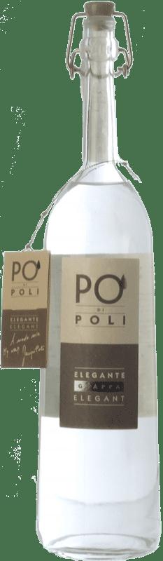 42,95 € 免费送货 | 格拉帕 Poli Pinot 威尼托 意大利 瓶子 70 cl