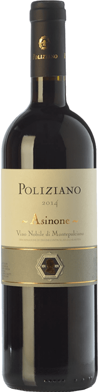 61,95 € 免费送货 | 红酒 Poliziano Asinone D.O.C.G. Vino Nobile di Montepulciano 托斯卡纳 意大利 Merlot, Sangiovese, Colorino 瓶子 75 cl