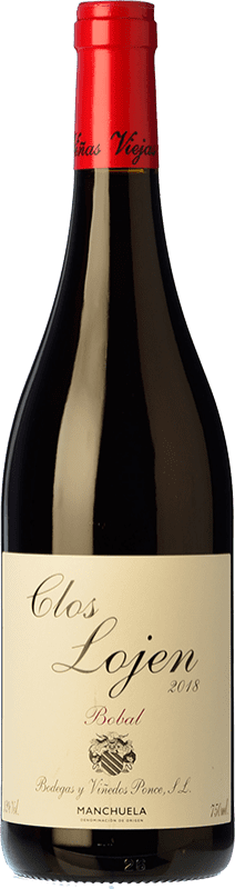 9,95 € | Red wine Ponce Clos Lojen Joven D.O. Manchuela Castilla la Mancha Spain Bobal Bottle 75 cl