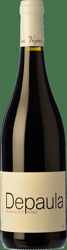9,95 € Free Shipping | Red wine Ponce Depaula Joven I.G.P. Vino de la Tierra de Castilla Castilla la Mancha Spain Monastrell Bottle 75 cl