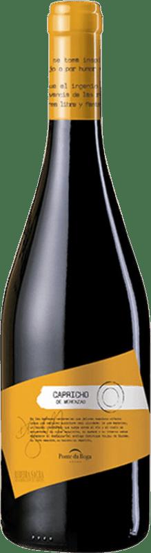 32,95 € Free Shipping | Red wine Ponte da Boga Capricho Crianza D.O. Ribeira Sacra Galicia Spain Merenzao Bottle 75 cl
