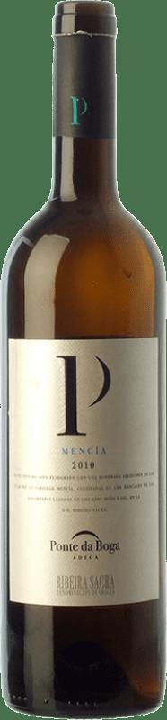 11,95 € Free Shipping | Red wine Ponte da Boga Joven D.O. Ribeira Sacra Galicia Spain Mencía Bottle 75 cl