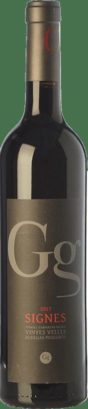 11,95 € 免费送货 | 红酒 Puiggròs Signes Crianza D.O. Catalunya 加泰罗尼亚 西班牙 Grenache, Sumoll 瓶子 75 cl