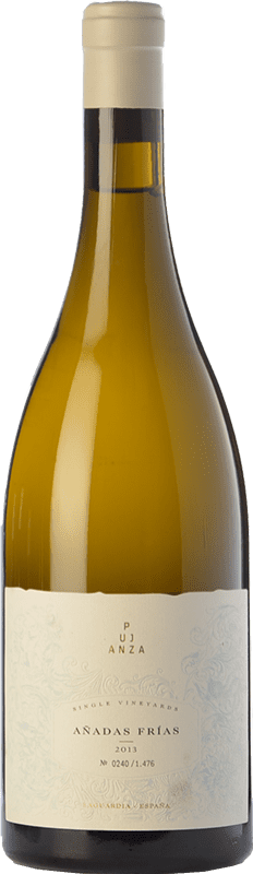 98,95 € Free Shipping | White wine Pujanza Añadas Frías Crianza D.O.Ca. Rioja The Rioja Spain Viura Bottle 75 cl