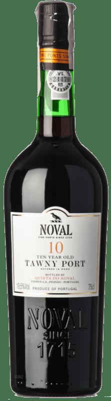 32,95 € Free Shipping | Fortified wine Quinta do Noval 10 Tawny Port I.G. Porto Porto Portugal Tinta Roriz, Tinta Barroca Bottle 75 cl
