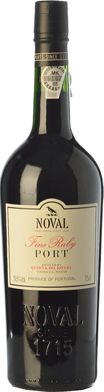 14,95 € Free Shipping | Fortified wine Quinta do Noval Fine Ruby Port I.G. Porto Porto Portugal Touriga Franca, Tinta Roriz, Tinta Barroca Bottle 75 cl