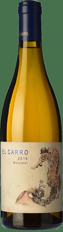 14,95 € 免费送货 | 白酒 Bernabé El Carro Crianza D.O. Alicante 巴伦西亚社区 西班牙 Muscat of Alexandria 瓶子 75 cl