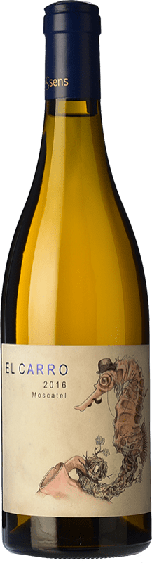 14,95 € Envoi gratuit | Vin blanc Bernabé El Carro Crianza D.O. Alicante Communauté valencienne Espagne Muscat d'Alexandrie Bouteille 75 cl