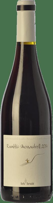 12,95 € 免费送货 | 红酒 Bernabé Ramblís Joven D.O. Alicante 巴伦西亚社区 西班牙 Monastrell 瓶子 75 cl
