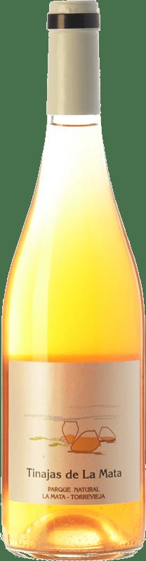 12,95 € 免费送货 | 白酒 Bernabé Tinajas de la Mata D.O. Alicante 巴伦西亚社区 西班牙 Muscat of Alexandria, Merseguera 瓶子 75 cl