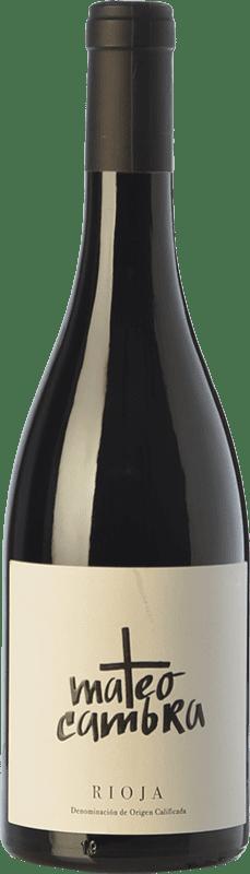 14,95 € 免费送货 | 红酒 Rafael Cambra Mateo Cambra Crianza D.O.Ca. Rioja 拉里奥哈 西班牙 Grenache 瓶子 75 cl