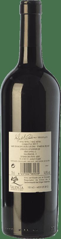 26,95 € Free Shipping | Red wine Rafael Cambra Minimun Crianza D.O. Valencia Valencian Community Spain Monastrell, Cabernet Franc Bottle 75 cl