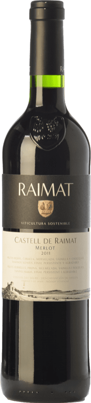 9,95 € | Red wine Raimat Castell Crianza D.O. Costers del Segre Catalonia Spain Merlot Bottle 75 cl