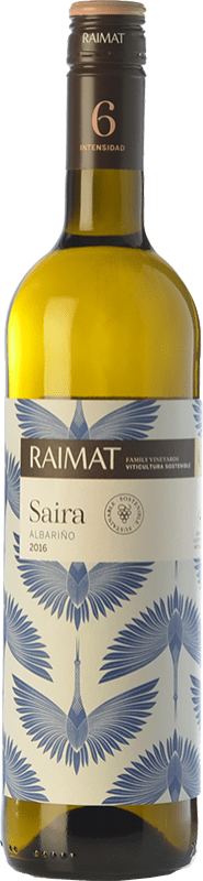 9,95 € | White wine Raimat Saira D.O. Costers del Segre Catalonia Spain Albariño Bottle 75 cl