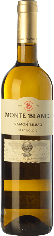8,95 € Free Shipping | White wine Ramón Bilbao Monte D.O. Rueda Castilla y León Spain Verdejo Bottle 75 cl