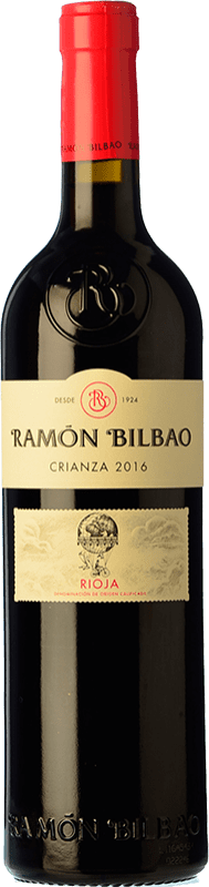 9,95 € Free Shipping | Red wine Ramón Bilbao Crianza D.O.Ca. Rioja The Rioja Spain Tempranillo Bottle 75 cl