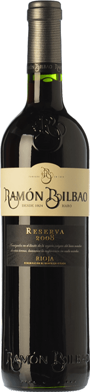 13,95 € | Red wine Ramón Bilbao Reserva D.O.Ca. Rioja The Rioja Spain Tempranillo, Graciano, Mazuelo Bottle 75 cl
