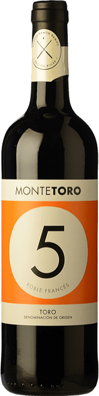 7,95 € | Red wine Ramón Ramos Monte Toro Roble D.O. Toro Castilla y León Spain Tinta de Toro Bottle 75 cl