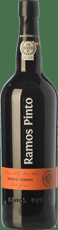 16,95 € 免费送货 | 强化酒 Ramos Pinto Tawny I.G. Porto 波尔图 葡萄牙 Tinta Roriz, Tinta Cão 瓶子 75 cl